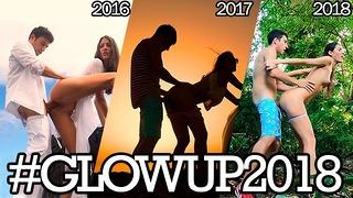 3 Jahre Fucking Around The World - Sammlung # glowup2018