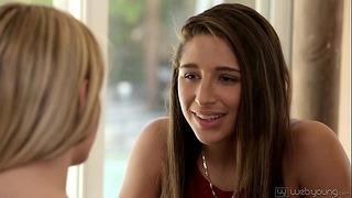 Kenna James Abella Danger Paar Lesben im Teenageralter