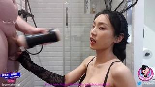 June Liu Spicygum - Ragazza cinese che prova nuovi giocattoli Parte 1 Pornhub Sex Toys Unboxing!