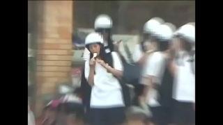 Čínske babes v školských uniformách - extrémne cnc Bdsm Skupinové kurva - vidiecka prilba # 2